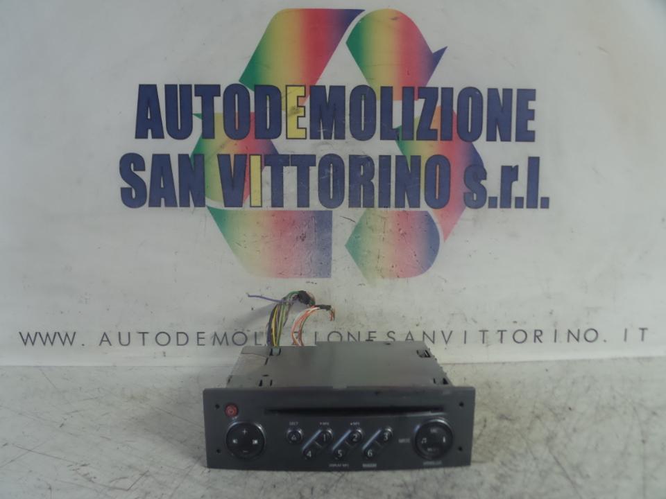 AUTORADIO C/NAVIGATORE RENAULT CLIO 3A SERIE (07/05>05/09