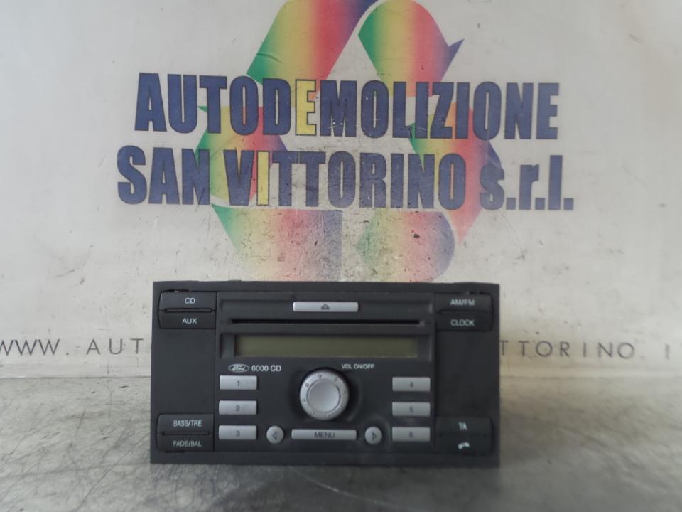 AUTORADIO FORD FIESTA (CBK) (12/05>12/08
