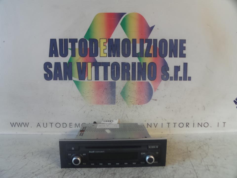 AUTORADIO AUDI A4 (8E) (10/04>02/08