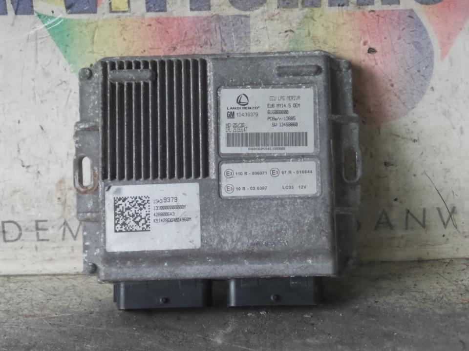 CENTRALINA INIEZIONE IMPIANTO GAS OPEL MERIVA (S10) (04/10>)