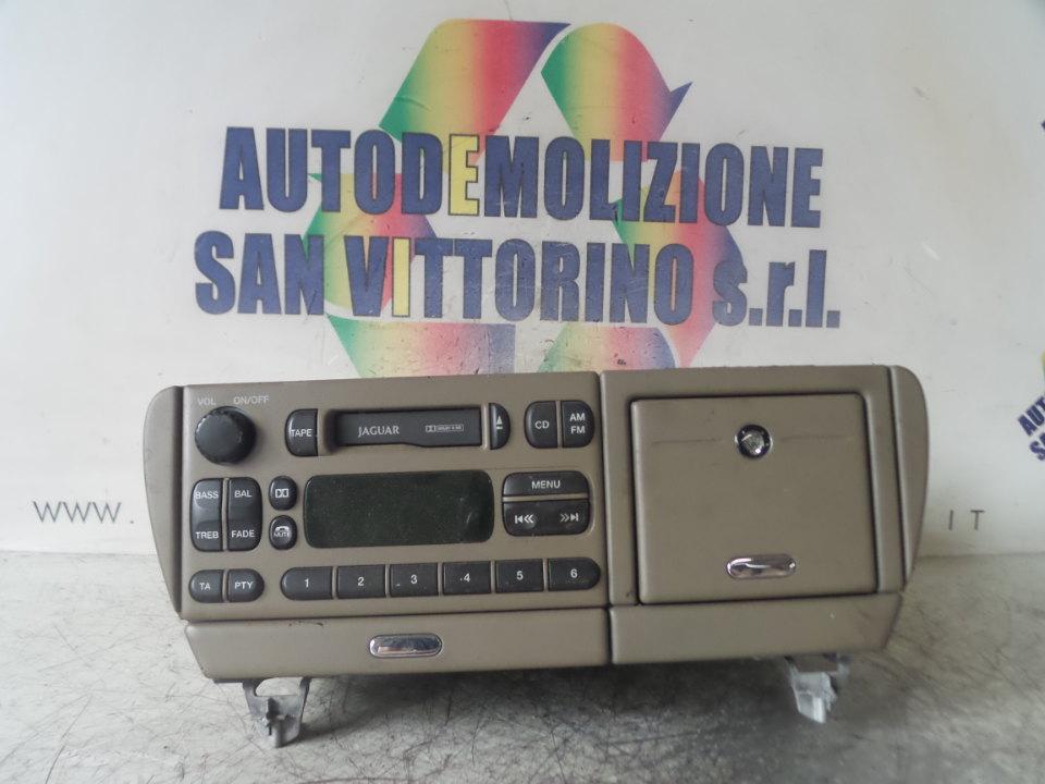 AUTORADIO JAGUAR S-TYPE (01/99>06/02