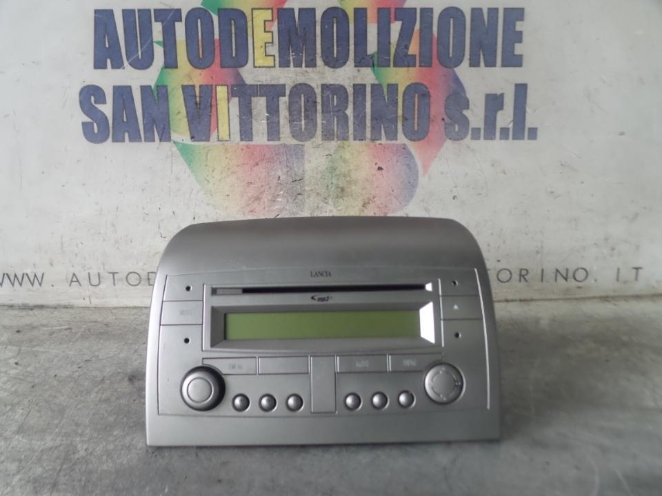 AUTORADIO CD,MP3 LANCIA YPSILON (TE) (06/03>09/06