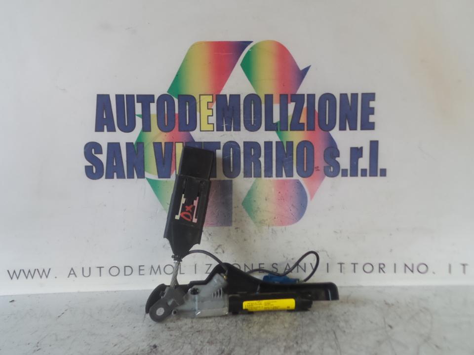AGGANCIO CINTURA DI SICUREZZA ANT. DX. CITROEN C3 1A SERIE (02/02>12/05<)