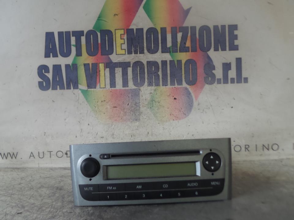 AUTORADIO CD FIAT GRANDE PUNTO (2Y) (06/05>05/08