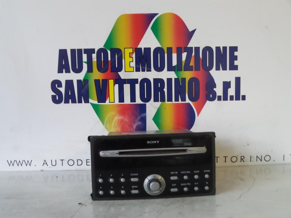 AUTORADIO FORD FOCUS (CAP) (11/04>06/08