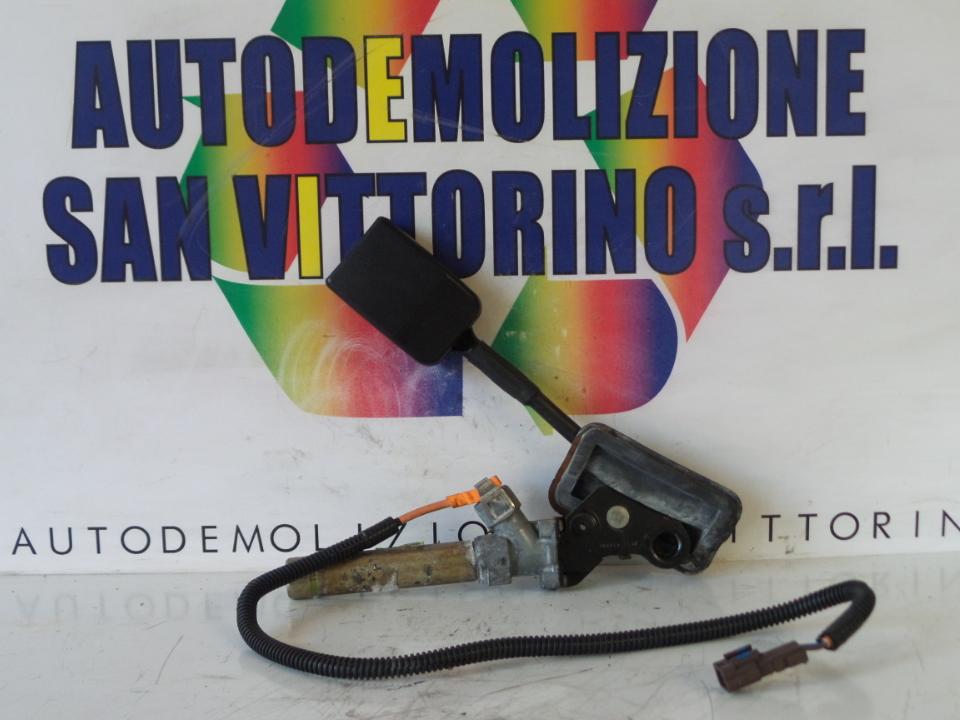 AGGANCIO CINTURA DI SICUREZZA ANT. SX. PEUGEOT RANCH (M59) (11/02>08/09
