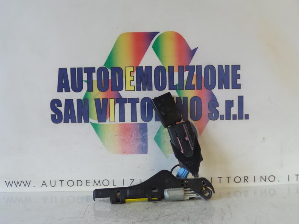AGGANCIO CINTURA DI SICUREZZA ANT. DX. CITROEN C3 2A SERIE (09/05>11/10<)