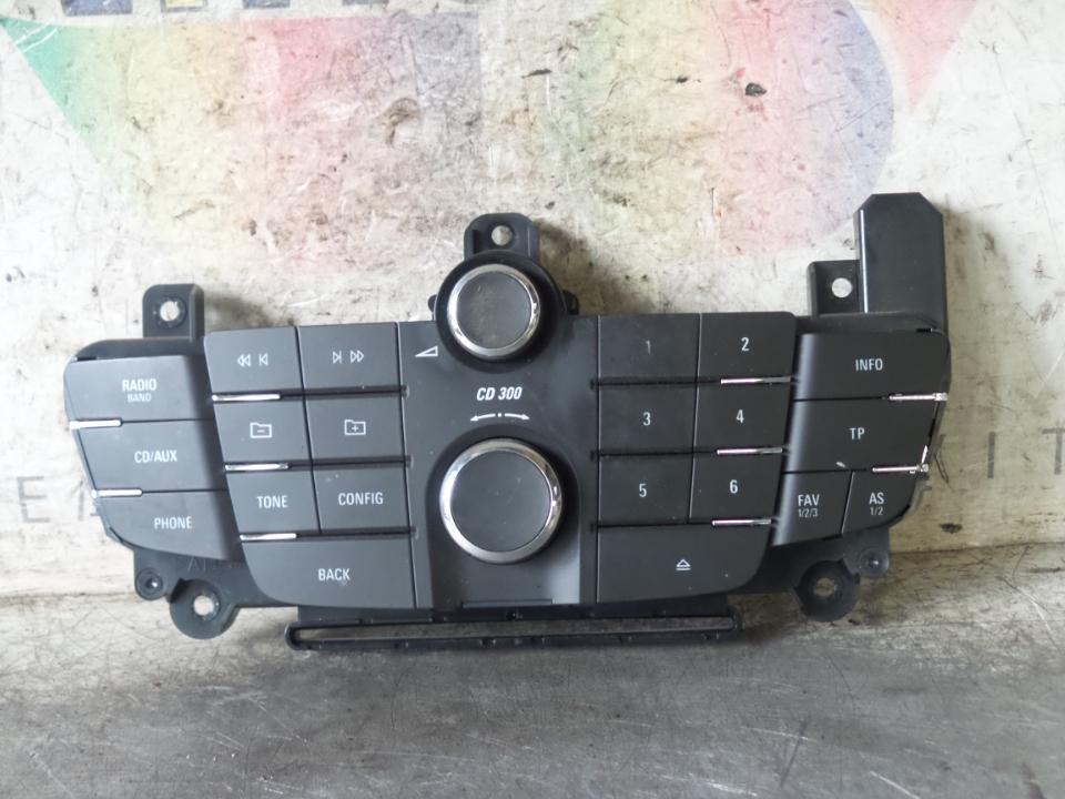 BLOCCO COMANDI AUTORADIO OPEL INSIGNIA (G09) (12/08>10/13