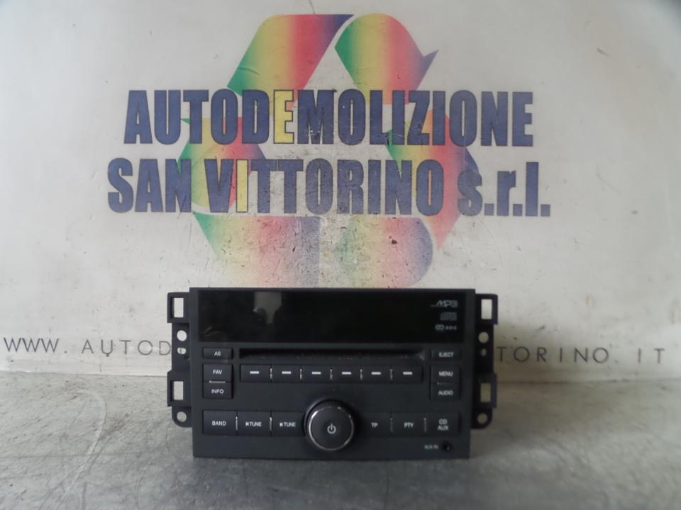 AUTORADIO CHEVROLET (DAEWOO) AVEO (T250) (06/08>11/12