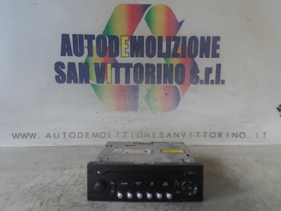AUTORADIO CITROEN C4 (11/04>10/10