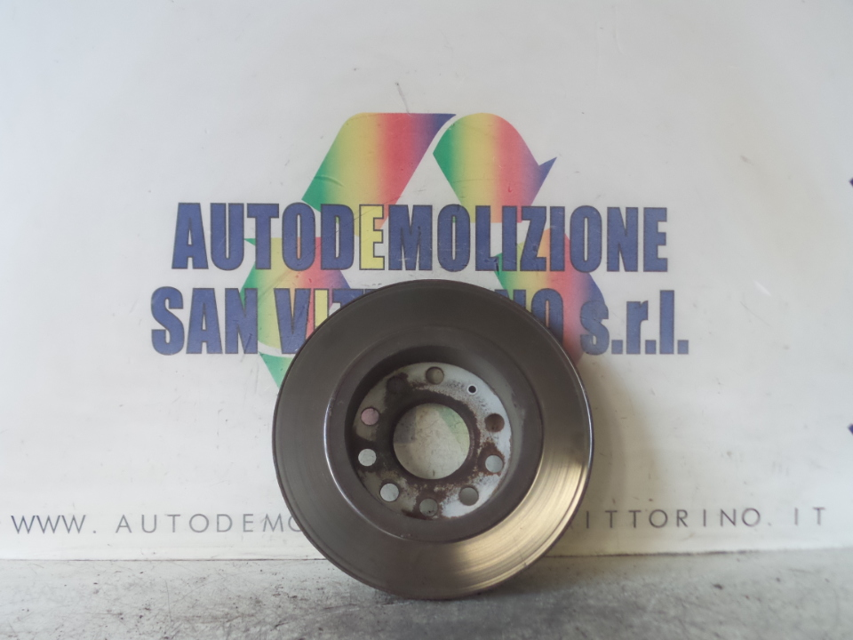 DISCO FRENO POST. 255X10MM SX. VOLKSWAGEN GOLF (1K) (10/03>12/09