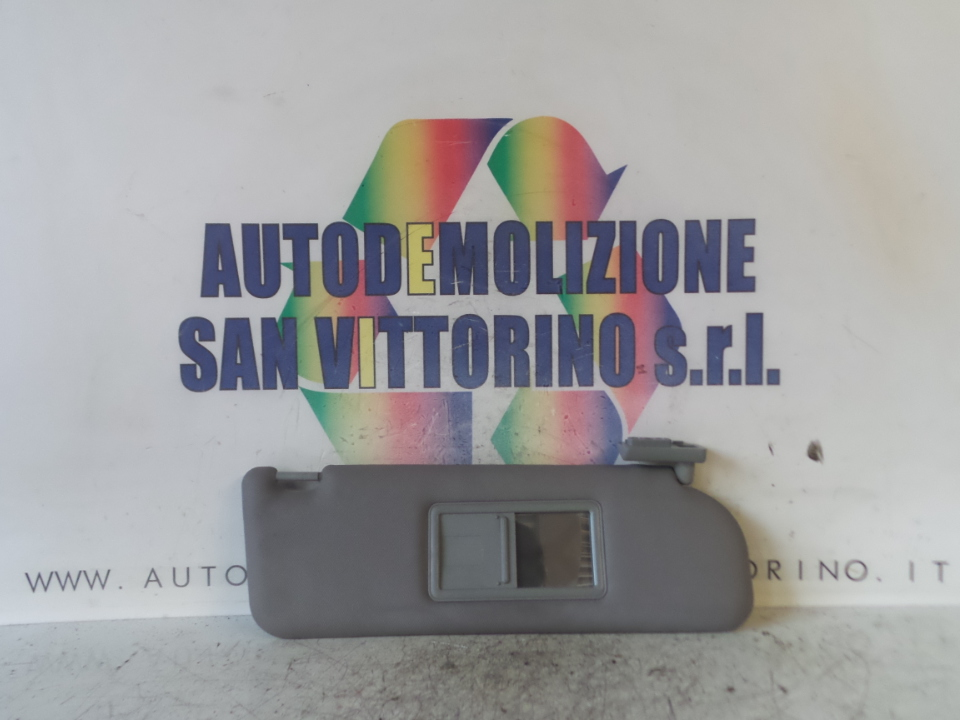 ALETTA PARASOLE PARABREZZA BEIGE DX. ALFA ROMEO 166 (W9) (10/03>03/06