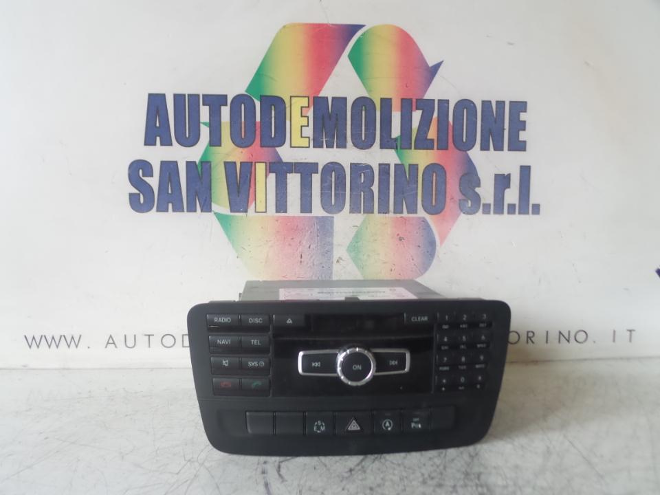 AUTORADIO C/COMAND DVD APS C/NAVIGAZIONE MERCEDES-BENZ CLASSE A (W176) (07/12>)