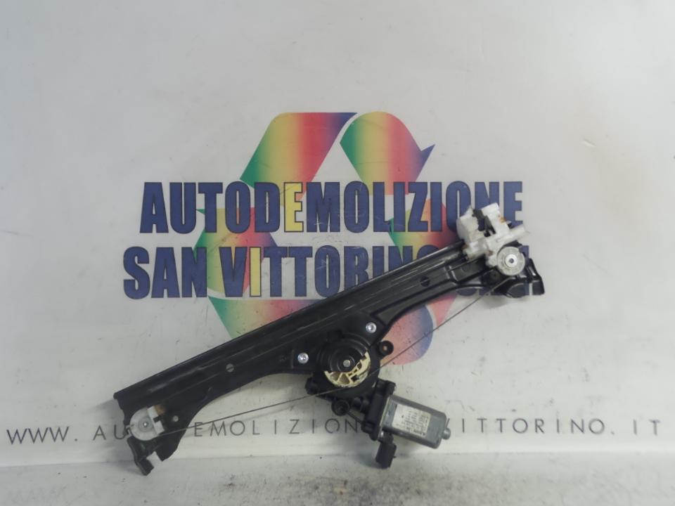 ALZACRISTALLO ELETTR. PORTA ANT. C/M DX. FIAT 500 (3P) (07/07>)