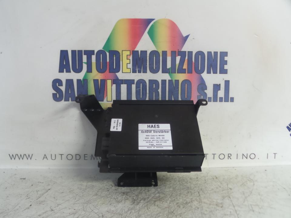 AMPLIFICATORE HI-FI PORSCHE BOXSTER (986) (09/96>09/99