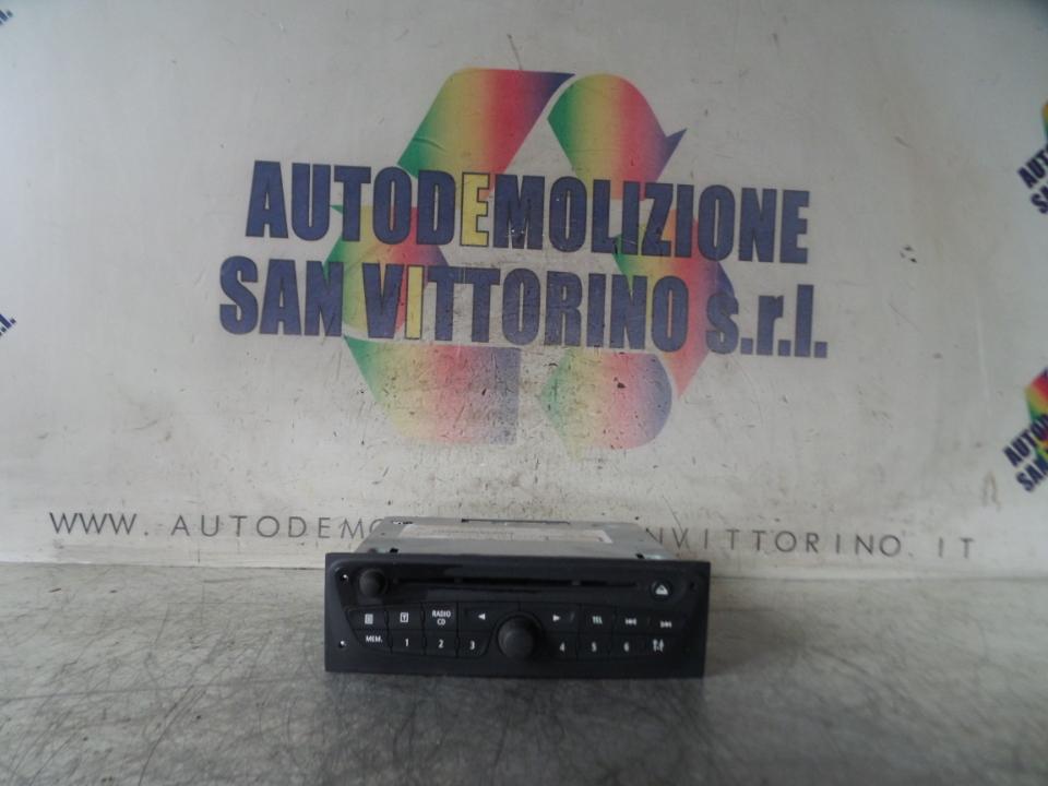 AUTORADIO 5;AUTORADIO NA01;02;03;04;06 RENAULT CLIO 3A SERIE (05/09>)
