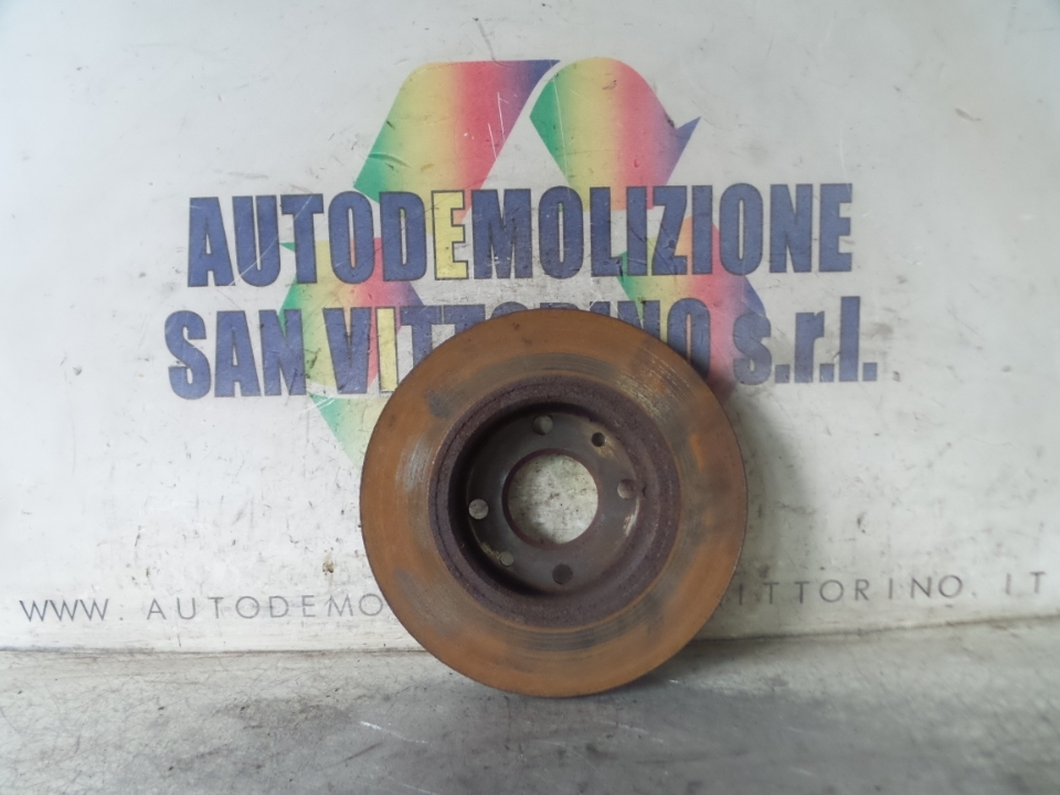DISCO FRENO POST. DX. FIAT PANDA (2Q) (09/03>12/10