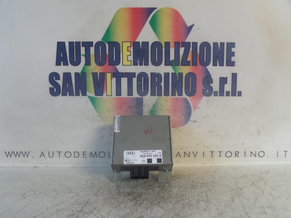 AMPLIFICATORE HI-FI AUDI A4 (8E) (10/04>02/08