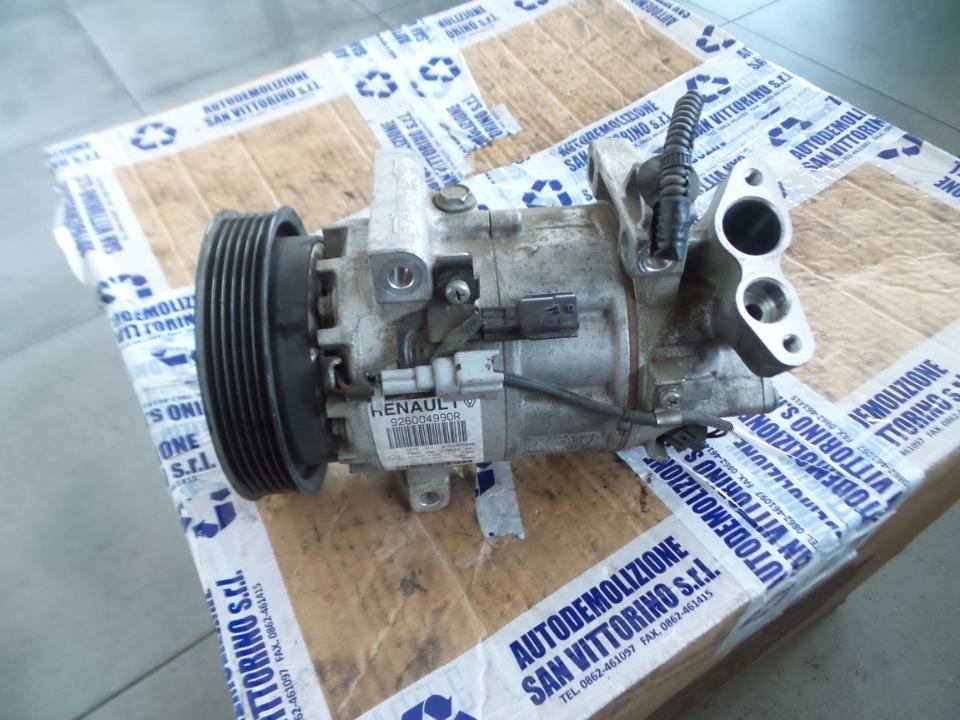 COMPRESSORE A/C P/GAS 1234YF RENAULT CLIO 4A SERIE (06/16>12/2019