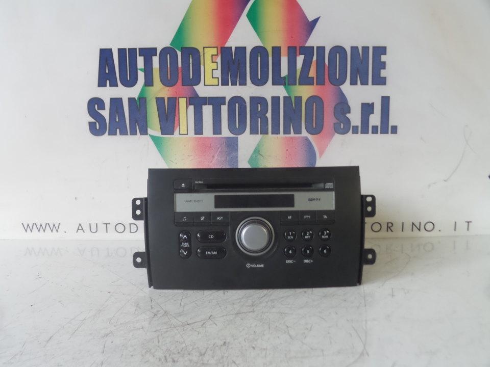 AUTORADIO C/MP3 FIAT SEDICI (3B) (02/06>11/11<)