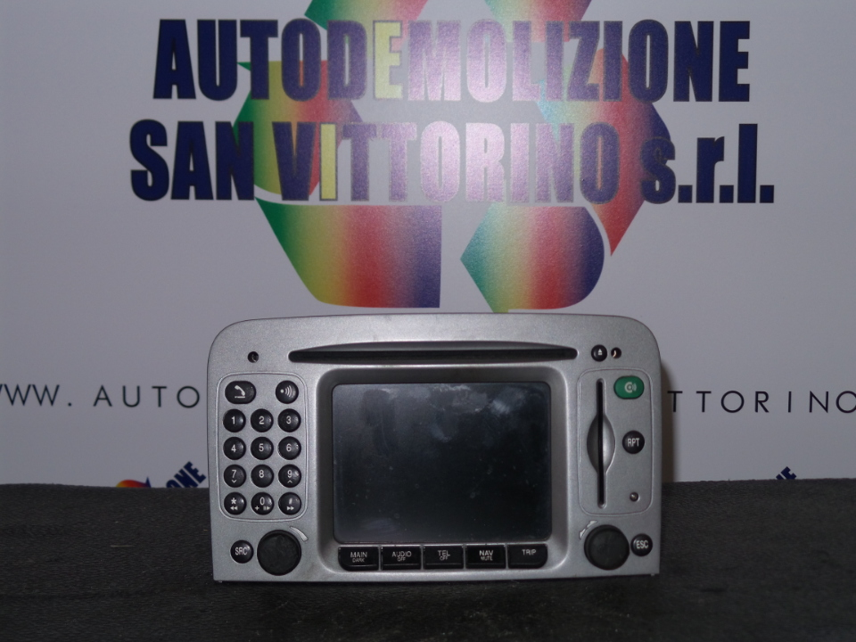CRUSCOTTO AUTOR./CD/NAV.PITT./MAPPE/TEL. ALFA ROMEO 147 (W8) (08/00>01/06<)