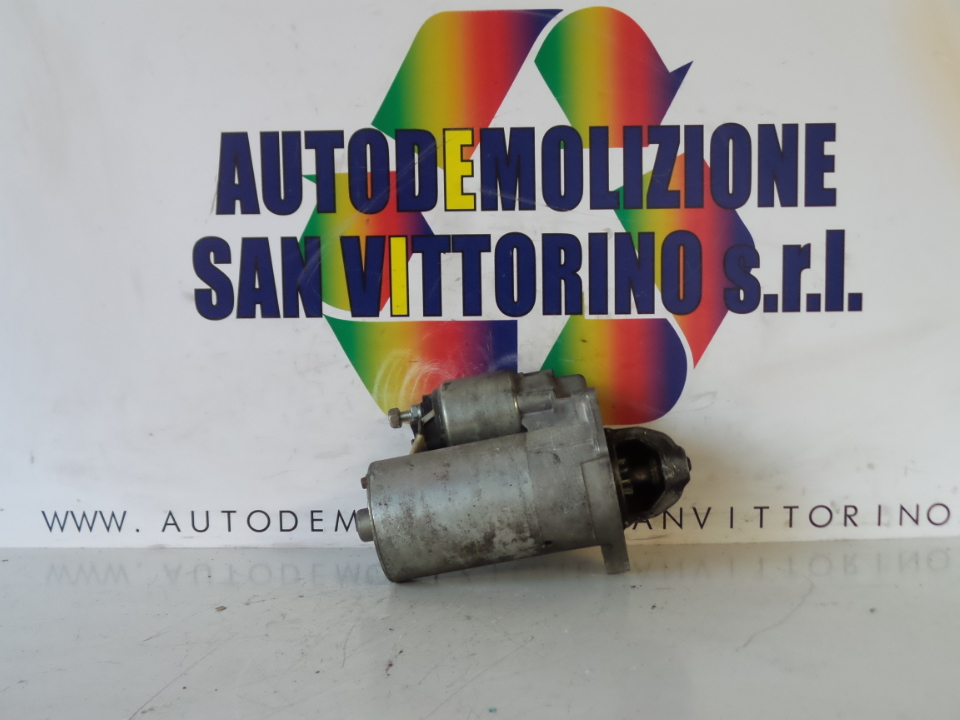 MOTORINO AVVIAMENTO BOSCH FIAT PUNTO CLASSIC (2U) (01/07>12/1