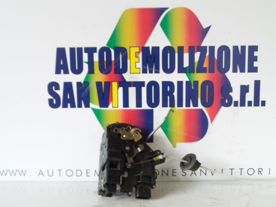 SERRATURA PORTA ANT. SX. AUDI A4 (8E) (11/00>11/04<)