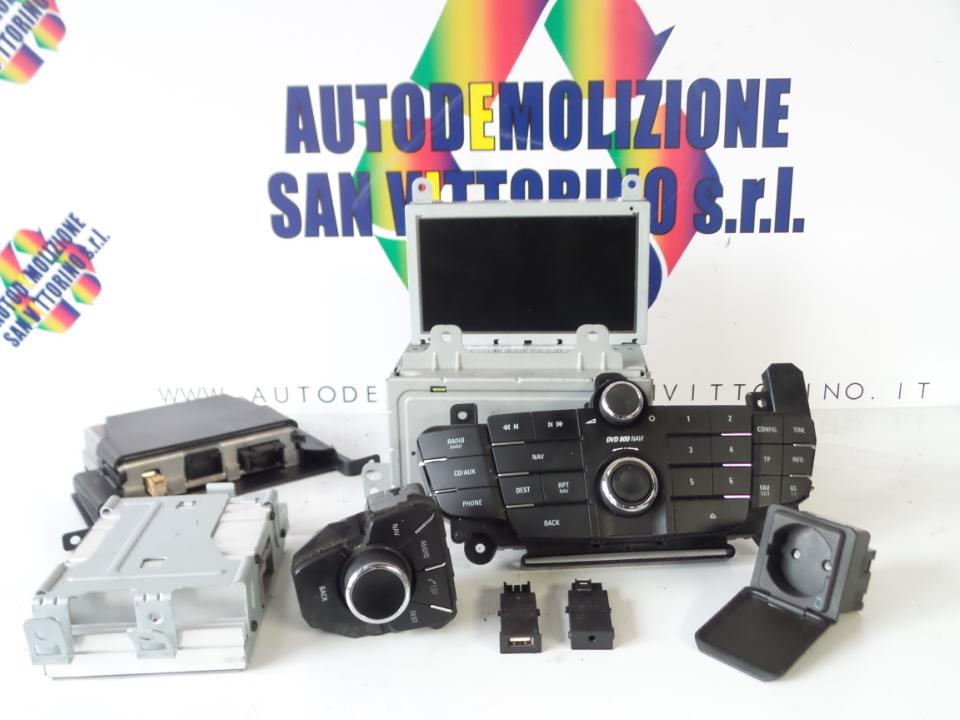 AUTORADIO C/SISTEMA NAVIGAZIONE OPEL INSIGNIA (G09) (12/08>)