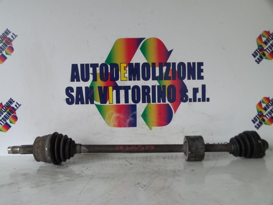 SEMIALBERO ANT. COMPL. DX. FIAT 500 (3P) (07/07>)