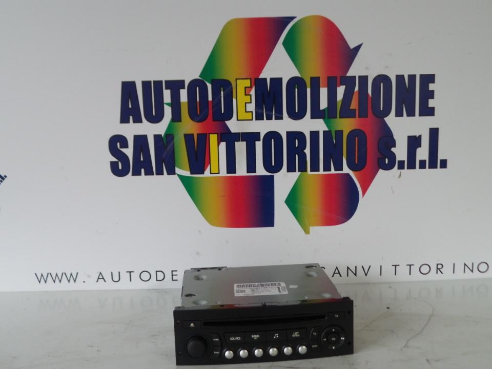 AUTORADIO CITROEN C3 (A51) (09/09>)