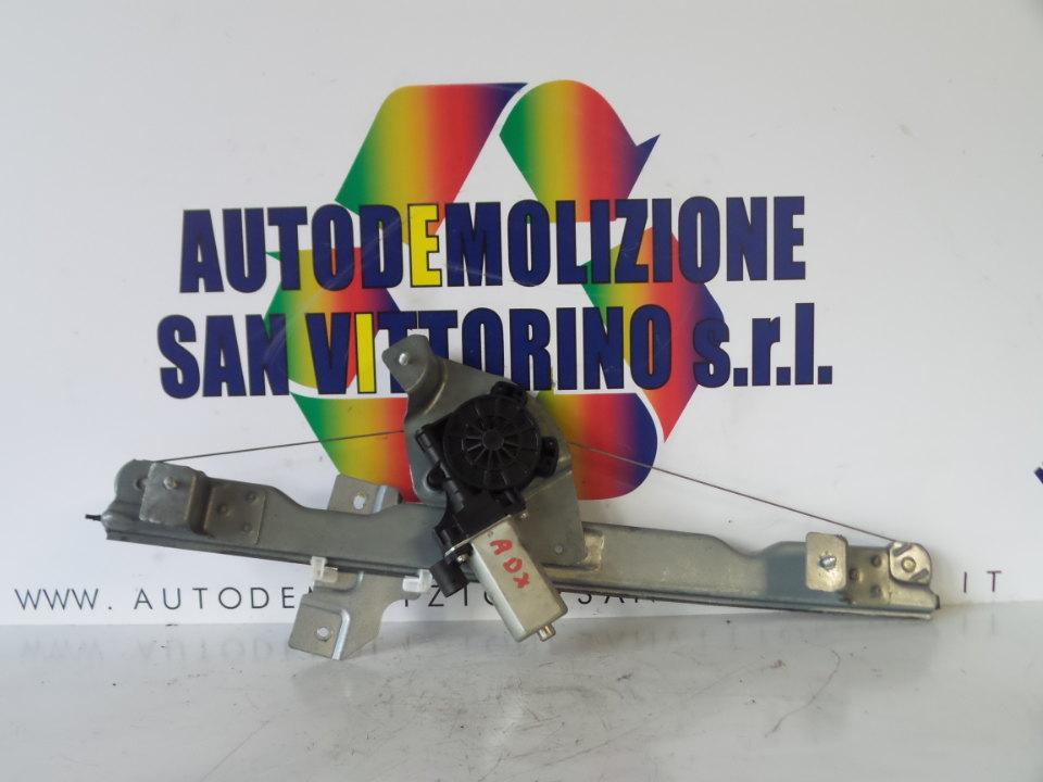 ALZACRISTALLO ELETTR. PORTA ANT. C/MOTORINO DX. DACIA SANDERO (07/08>)