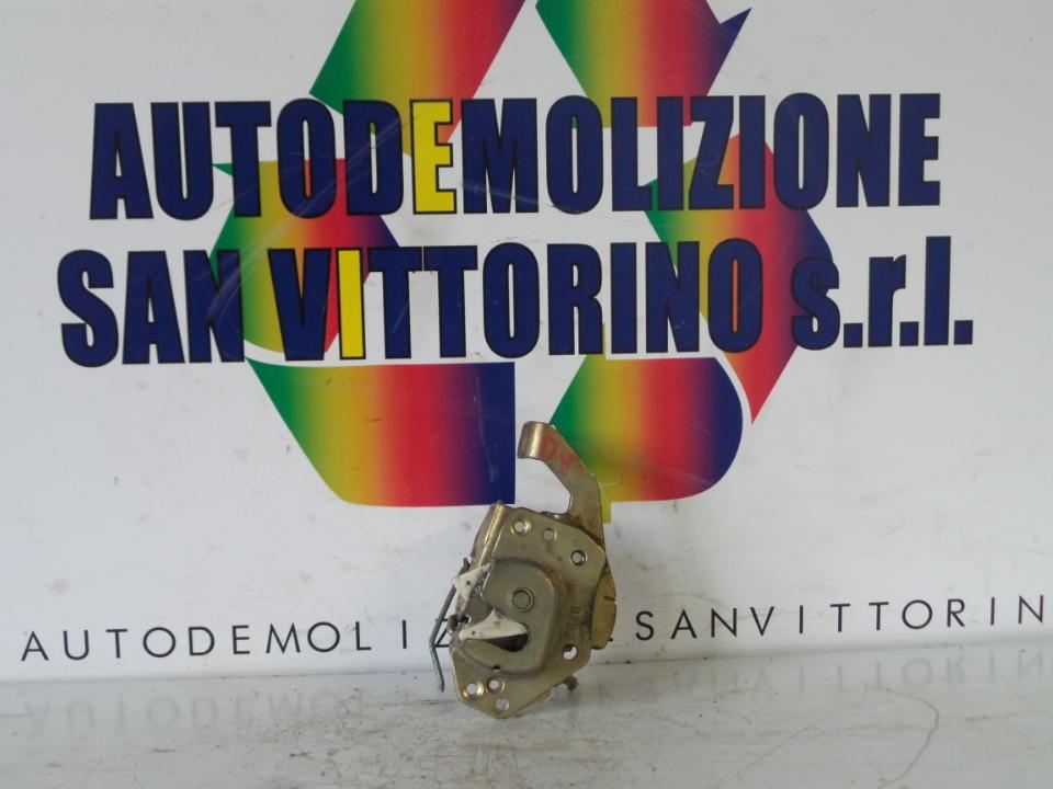 SERRATURA PORTA ANT. DX. FIAT PANDA 1A SERIE (03/92>03/04<)