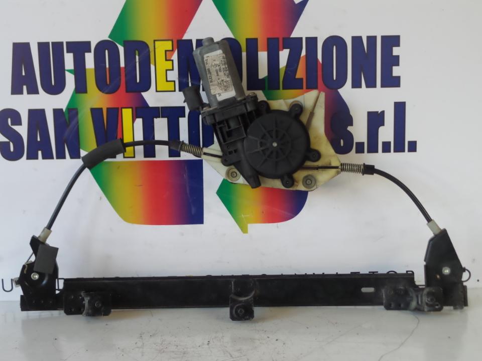 ALZACRISTALLO ELETTR. PORTA ANT. CON MOTORINO SX. ALFA ROMEO 156 1A SERIE (04/00>02/02<)