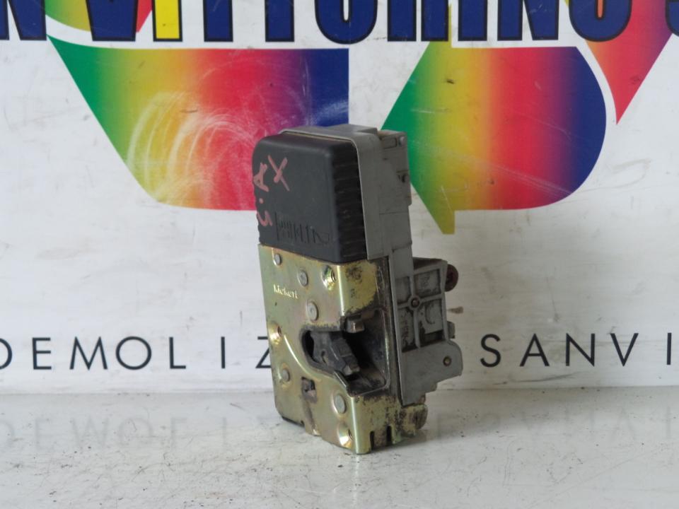 SERRATURA PORTA ANT. CHIUS. C.ZTA C/TELECOMANDO SX. FIAT ULYSSE (PG) (06/94>09/02<)