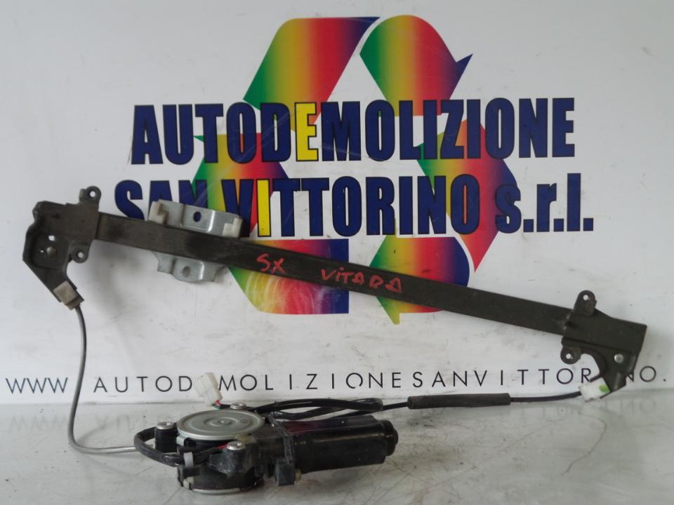 ALZACRISTALLO ELETTR. PORTA ANT. CON MOTORINO SX. SUZUKI VITARA (01/91>12/98<)