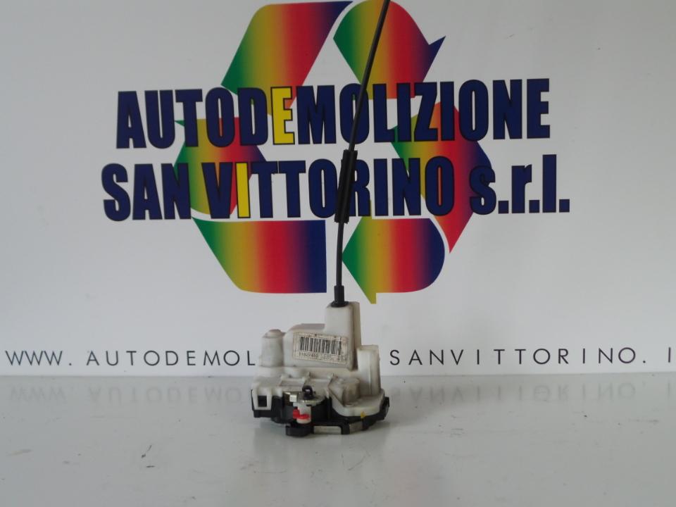SERRATURA PORTA ANT. SX. FIAT 500 (3P) (07/07>)