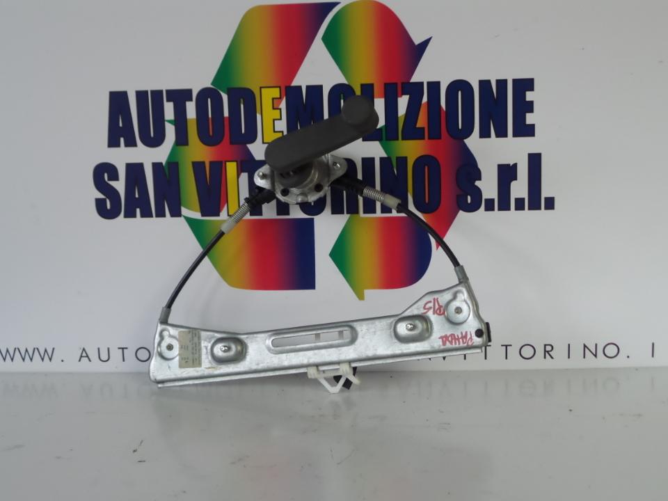 ALZACRISTALLO PORTA POST. SX. FIAT PANDA (2Q) (09/03>09/09<)