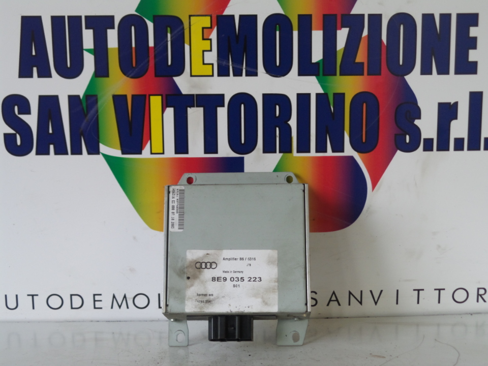 AMPLIFICATORE HI-FI AUDI A4 (8E) (11/00>11/04<)