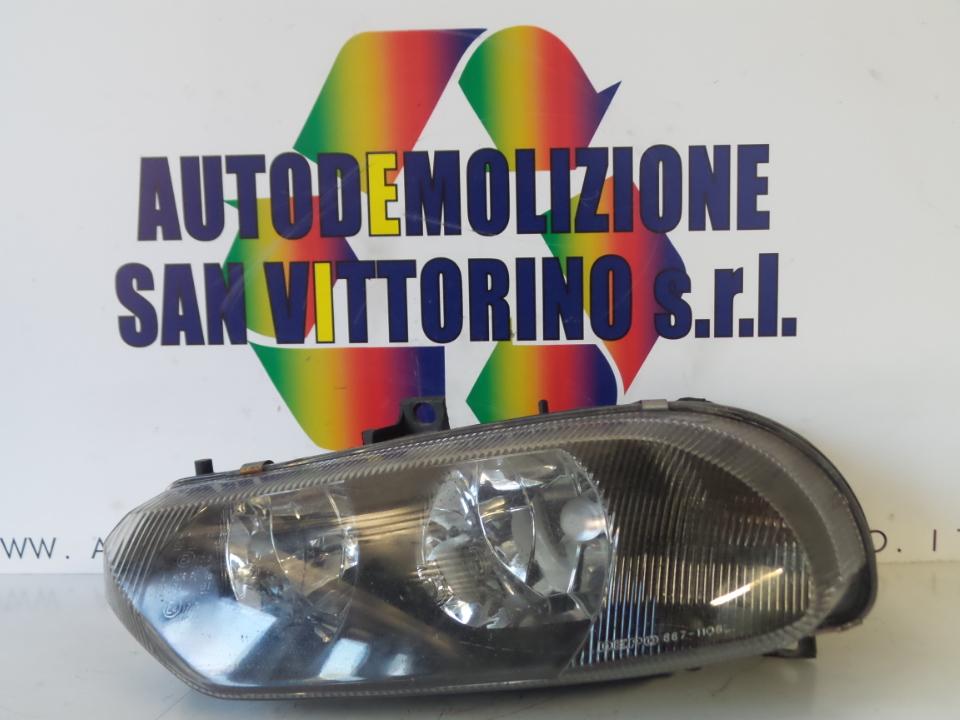 PROIETTORE REGOLATORE ALTEZZA SX. ALFA ROMEO 156 1A SERIE (04/00>02/02<)