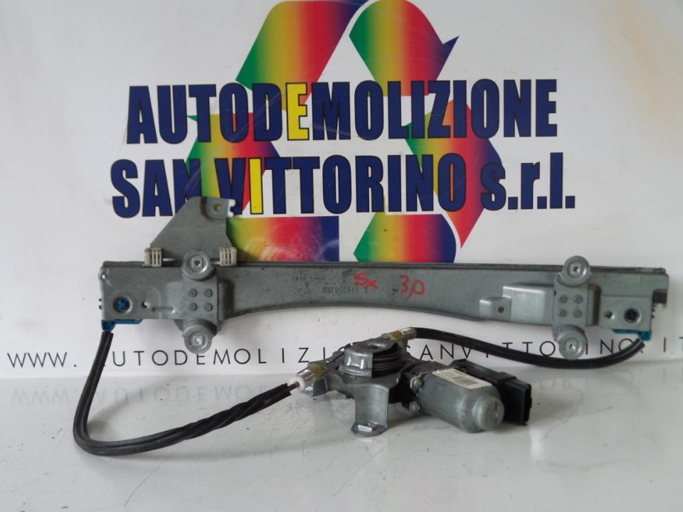 ALZACRISTALLO ELETTR. PORTA ANT. CON MOTORINO SX. RENAULT TWINGO 2A SERIE (06/07>)