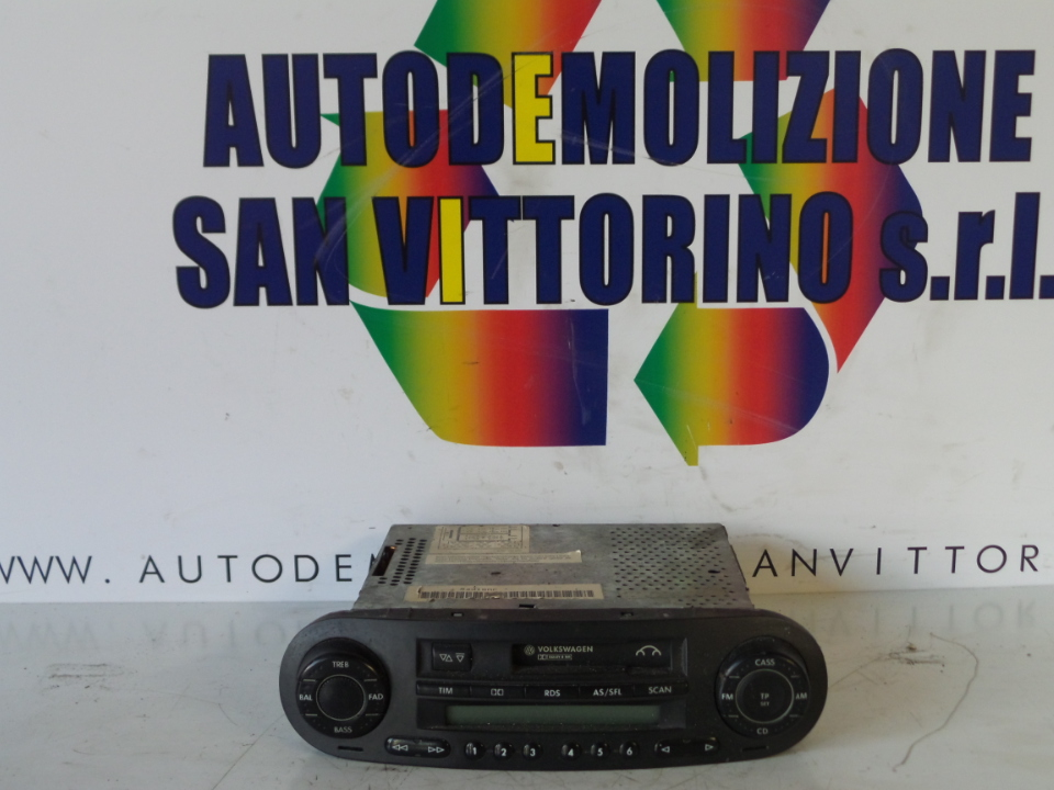 AUTORADIO VOLKSWAGEN NEW BEETLE (1C) (02/99>)