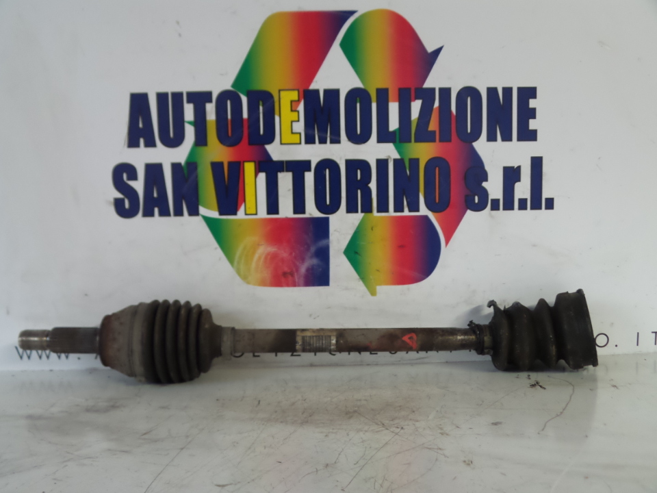 SEMIALBERO ANT. COMPL. DX. FORD FIESTA (CB1) (09/08>)