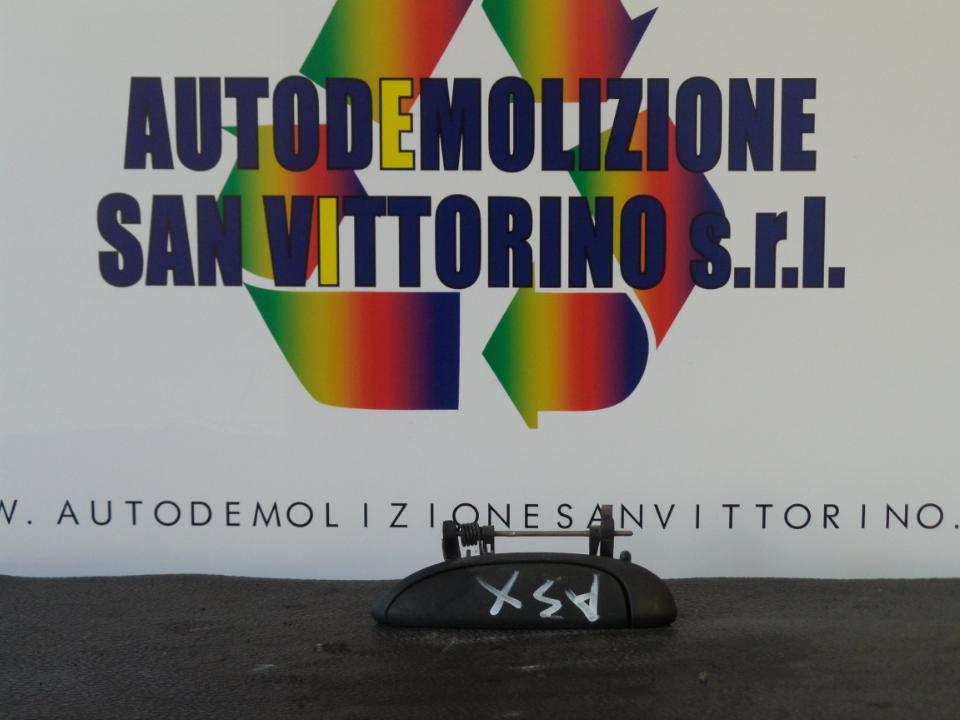 MANIGLIA PORTA ANT. SX. RENAULT CLIO 2A SERIE (04/98>04/01<)