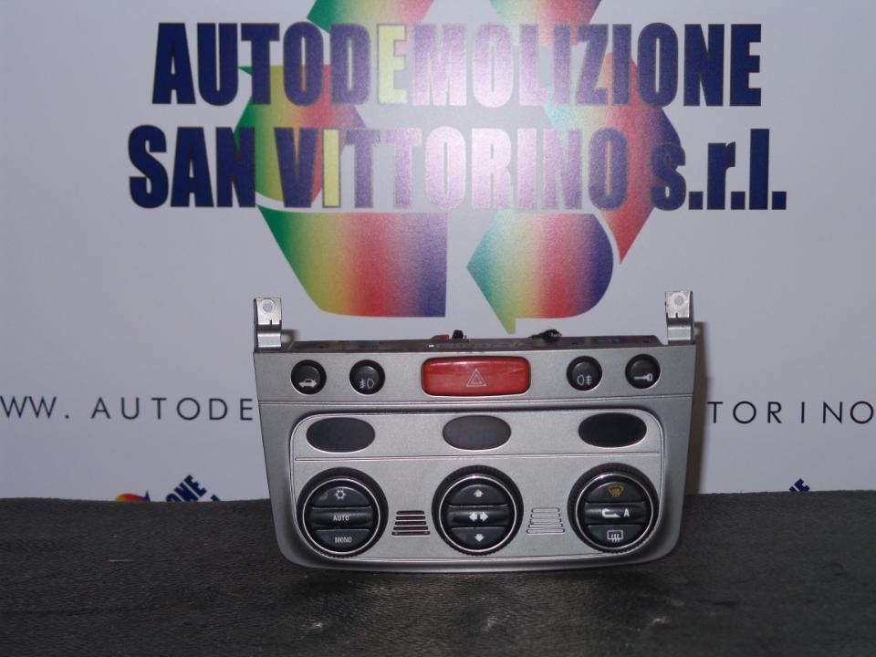 BLOCCO COMANDO CLIMATIZZAZIONE ALFA ROMEO 147 (W8) (08/00>01/06<)