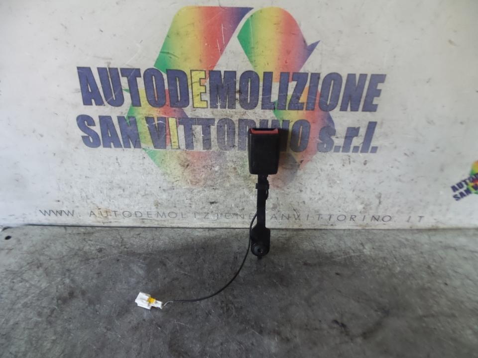 AGGANCIO CINTURA DI SICUREZZA ANT. DX. CITROEN C3 (A51) (09/09>06/13