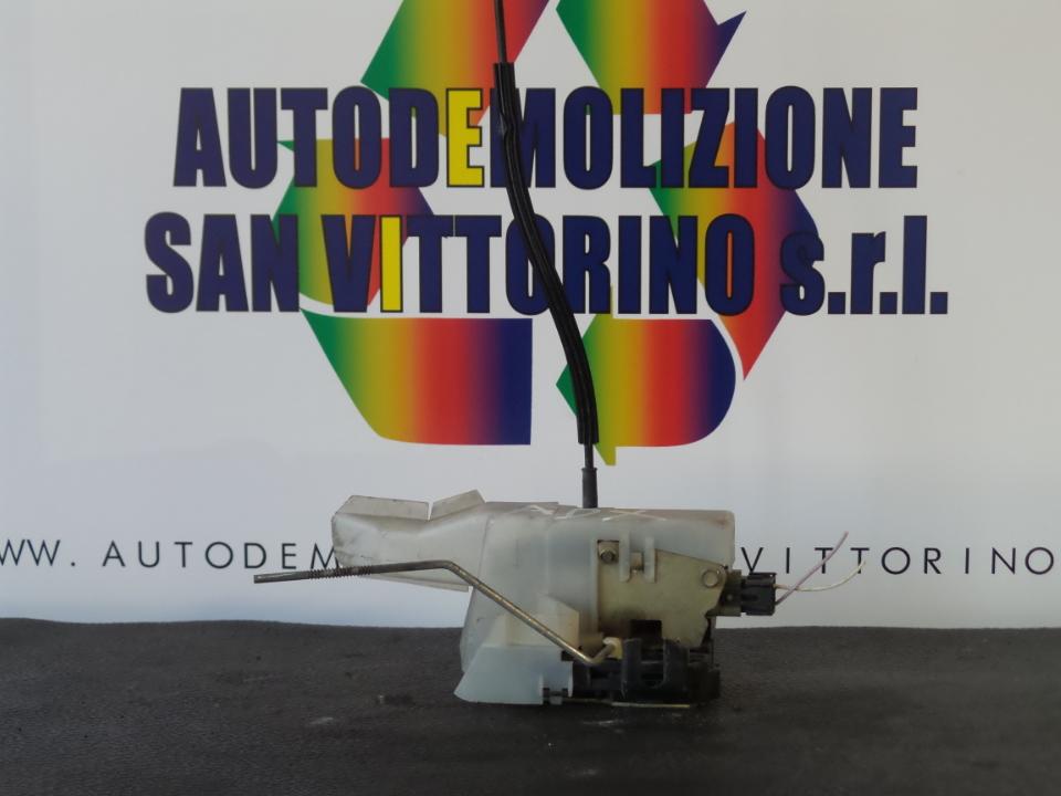 SERRATURA PORTA ANT. DX. RENAULT CLIO 2A SERIE (04/98>04/01<)