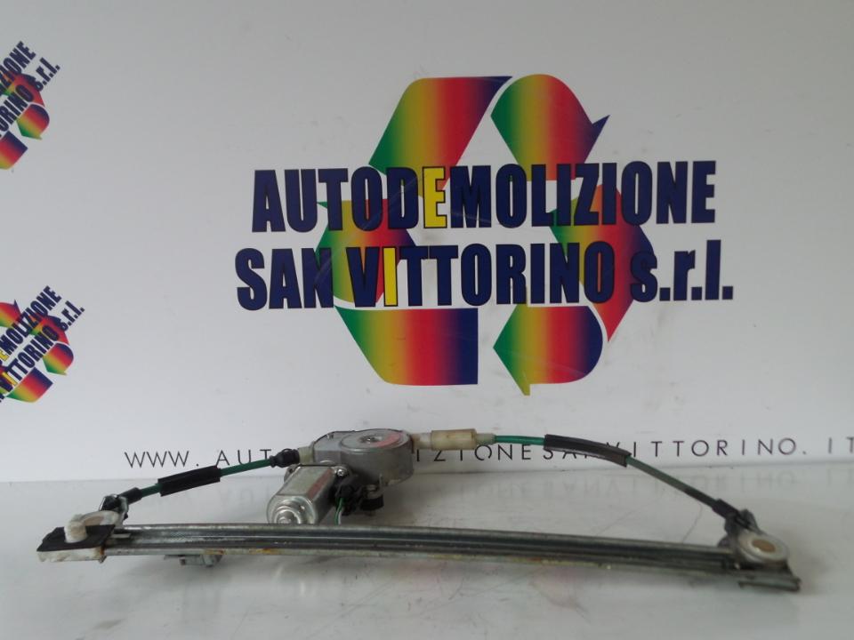 ALZACRISTALLO ELETTR. PORTA ANT. CON MOTORINO DX. FIAT MULTIPLA (1F) (06/98>05/02<)