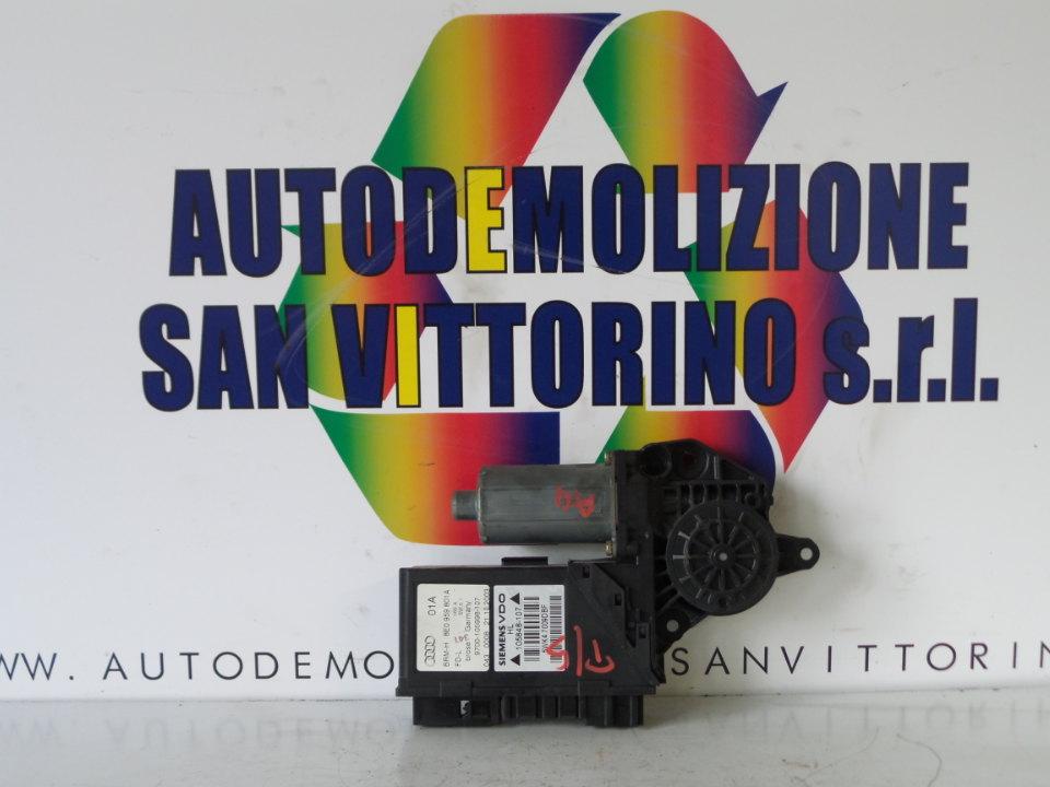 MOTORINO ALZACRISTALLO PORTA POST. SX. AUDI A4 (8E) (11/00>11/04<)