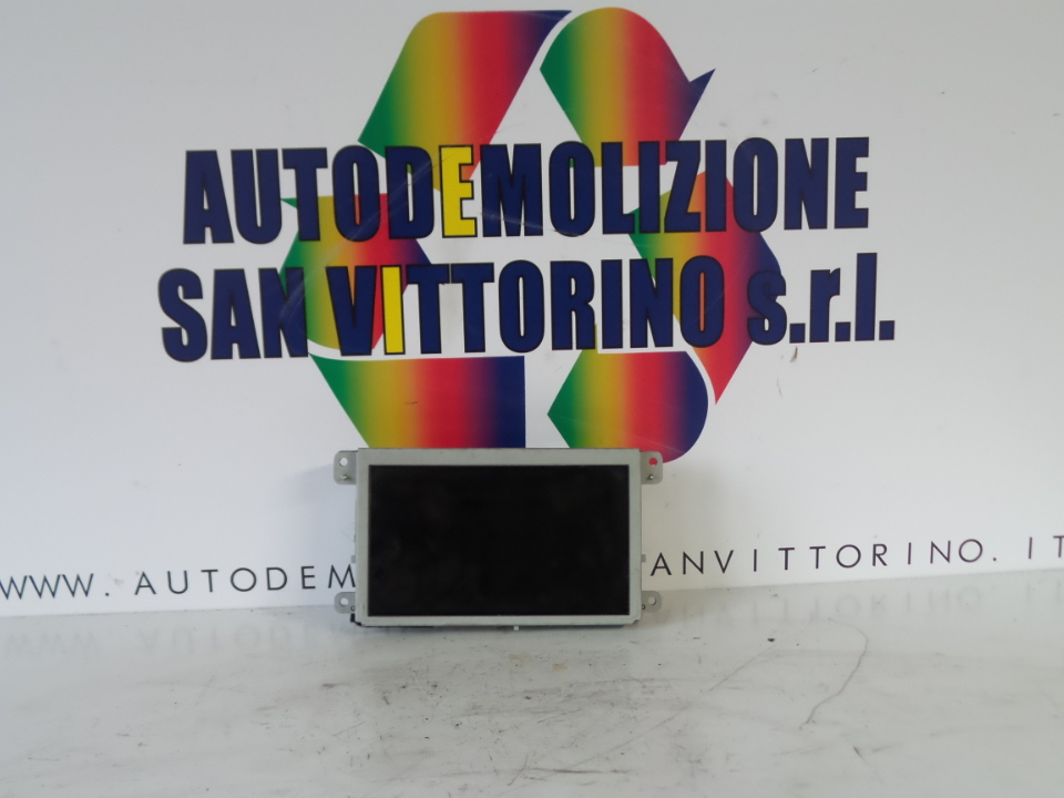 DISPLAY NAVIGATORE SATELLITARE AUDI A6 (4F) (03/04>06/09<)