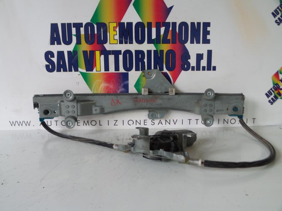 ALZACRISTALLO ELETTR. PORTA ANT. CON MOTORINO DX. RENAULT TWINGO 2A SERIE (06/07>)